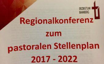 Regionalkonferenz zum pastoralen Stellenplan