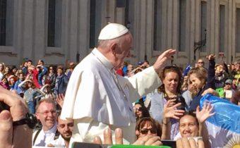 Generalaudienz mit Papst Franziskus