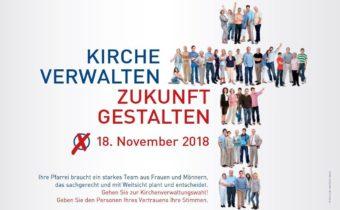 Kirchenverwaltungswahlen am 18. November 2018