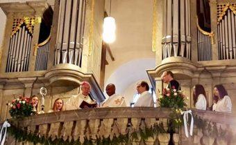 Orgelsegnung in Oberailsfeld