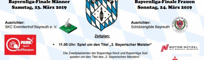 Bayerische Meisterschaften in Bayreuth