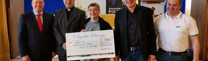 """Bayreuther Fastenessen 2019 zu Gunsten """"Suppe am Samstag"""""""